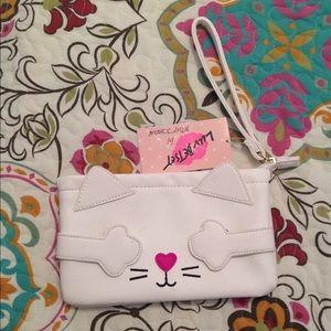 Cat Wristlet by Betsey Johnson
